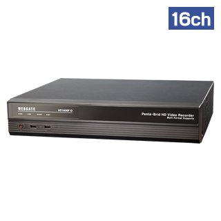 HS1600F-D 16ch HD-SDI HYBRID DVR