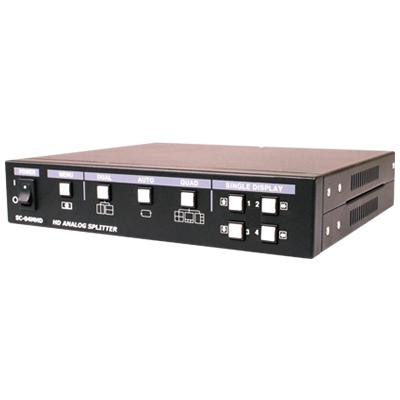 SC-04MHD 4ch 高解像度分割器