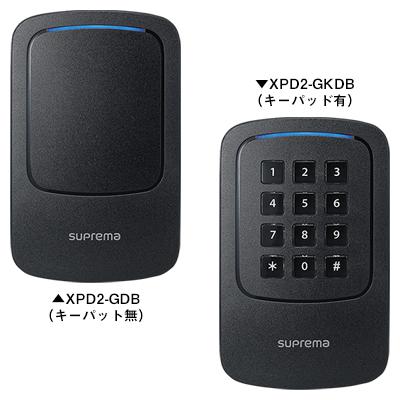 屋外用コンパクトRFIDリーダー Xpass D2(XPD2-GDB / XPD2-GKDB)