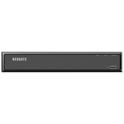 WEBGATE製 4CH PoE NVR「UHN404P-H1」