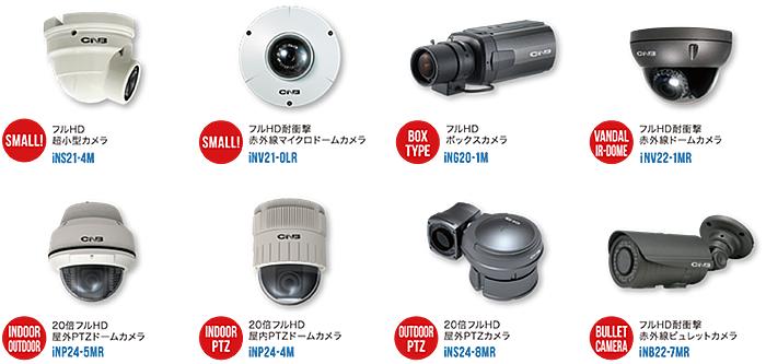 i-Seriesネットワークカメラ