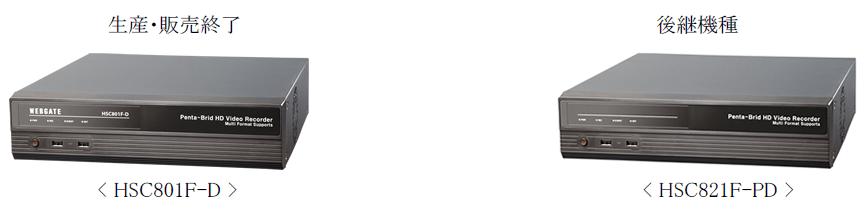 WEBGATE HSC801F-D(生産・販売終了)→HSC821F-PD(後継機種)