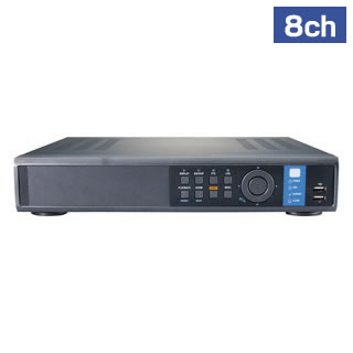 H.264 Realtime 8ch Standalone DVR