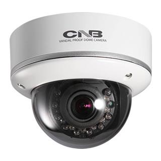 耐衝撃型赤外線内蔵ドームカメラ