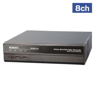 8ch HD-SDI HYBRID DVR