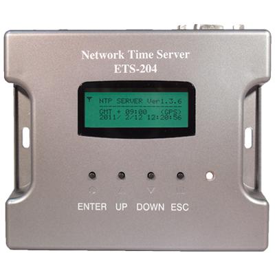 小型・高性能電波時計・GPS方式NTPタイムサーバー